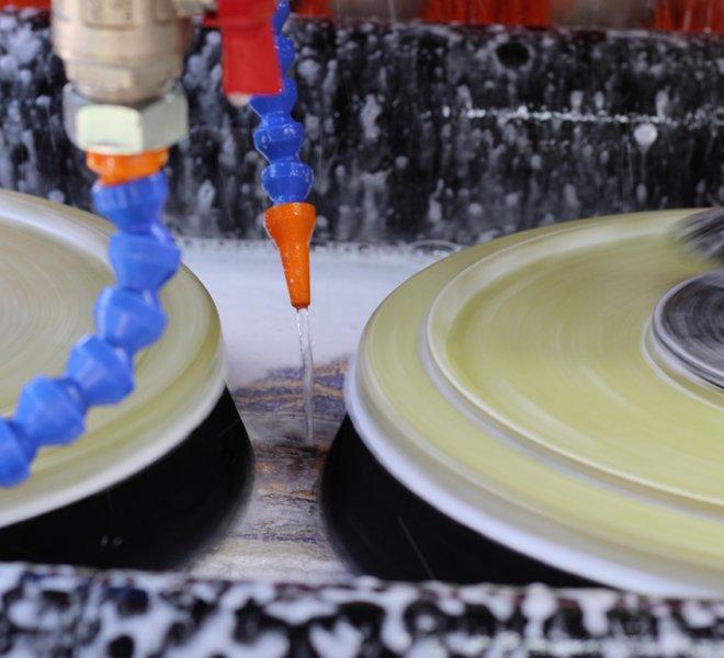 Proces ispiranja i centrifugiranja